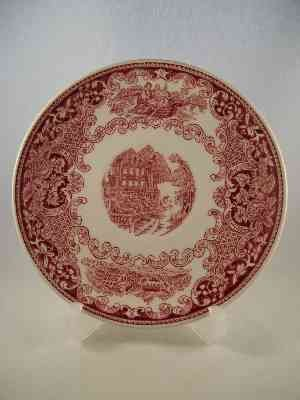 "Royal Sphinx Untertasse ""Cambridge Old England"""
