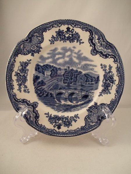 """Teller klein """"Old Britain Castles"""" Blau"""
