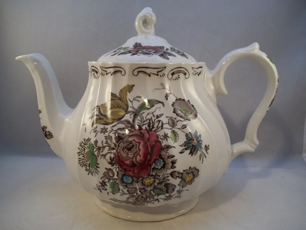 """Teekanne groß """"Bouquet"""" Braun"""