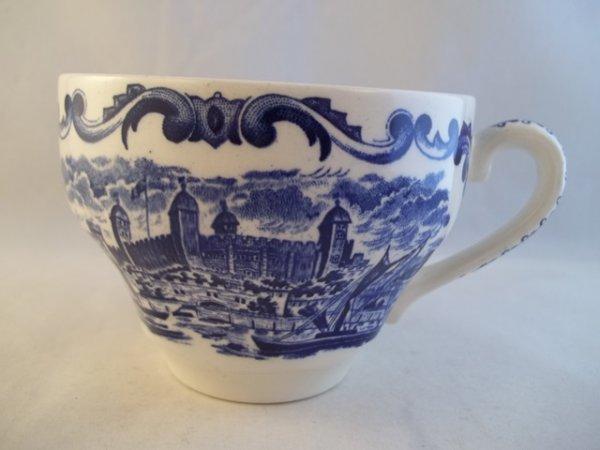 """Kaffeetasse """"Royal Homes of Britain"""" Blau"""