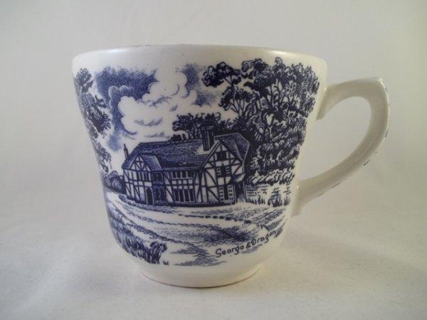 "Grindley Kaffeetasse ""English Country Inns"""