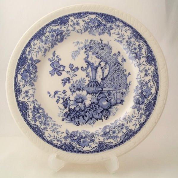 "Kuchenteller ""Olde Staffordshire"" Blau"