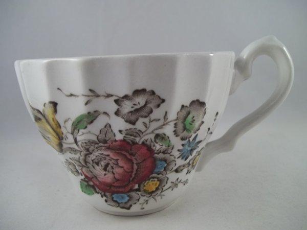 """Kaffeetasse """"Bouquet"""" Braun"""