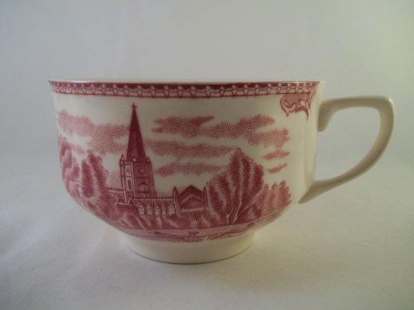 "Teetasse ""Old Britain Castles"" Rot"