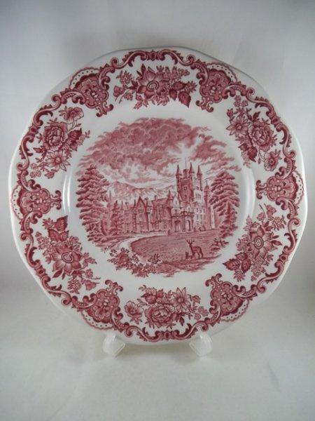 "Essteller ""Royal Homes of Britain"" Rot"