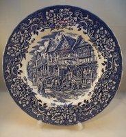 Royal Worcester PALISSY Avon Scenes BRAUN ~ Eierbecher