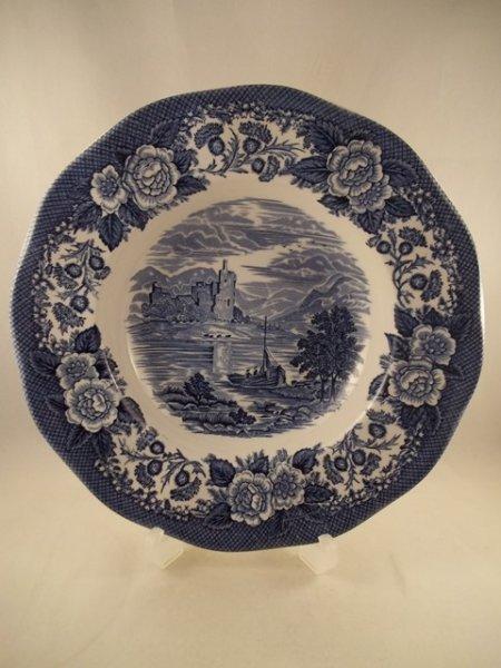 """Suppenteller """"Lochs of Scotland"""" Blau"""