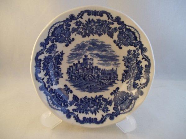"""Schüssel klein """"Royal Homes of Britain"""" Blau"""