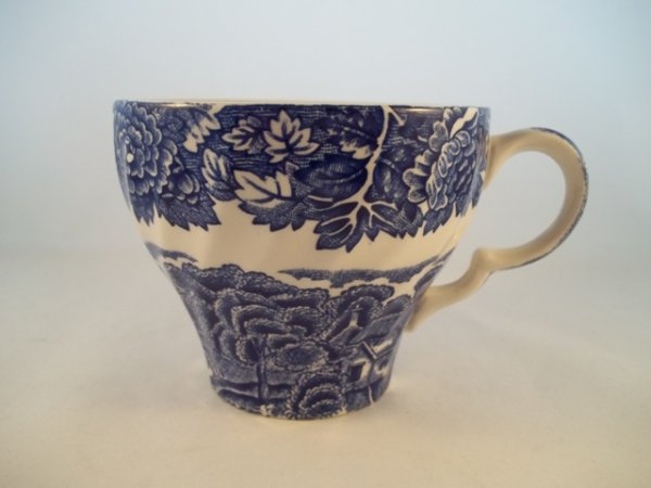 "Kaffeetasse ""English Scenery"" Blau"