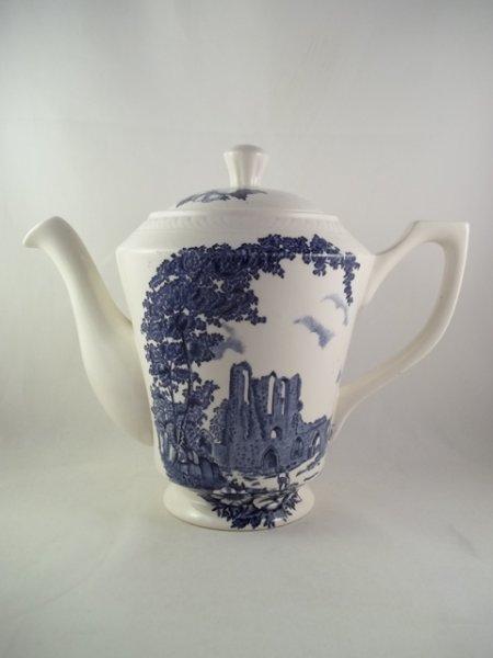 """Kaffeekanne """"Olde Abbey"""" Blau"""