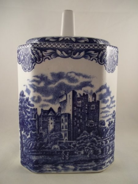 """Teedose """"Old Britain Castles"""" Blau"""
