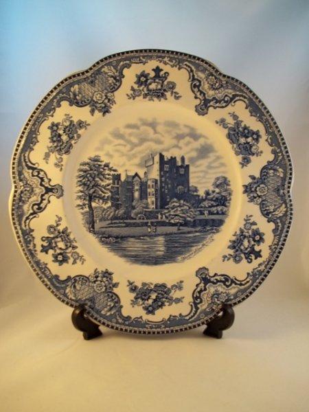 """Essteller """"Old Britain Castles"""" Blau 1b"""