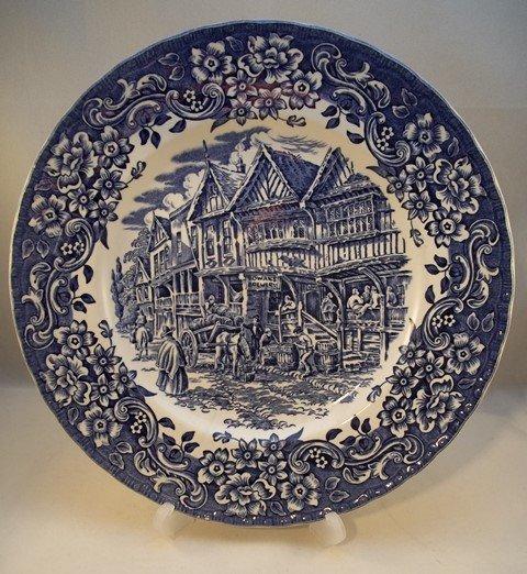 """Essteller """"17th Century"""" Blau"""