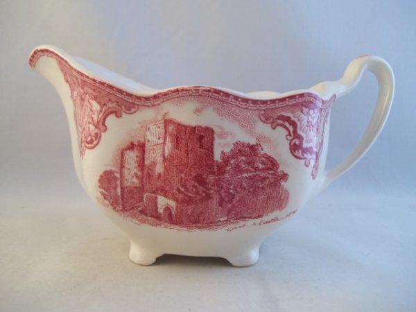 "Milchkännchen gross ""Old Britain Castles"" Rot"